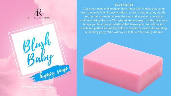 Blush Baby Pink Soap - Skin Revolution Asia